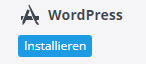 Wordpress 1-Klick Installation